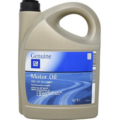 GM 5W-30/5L variklinė alyva (pilnai sintetinė) longlife dexos2