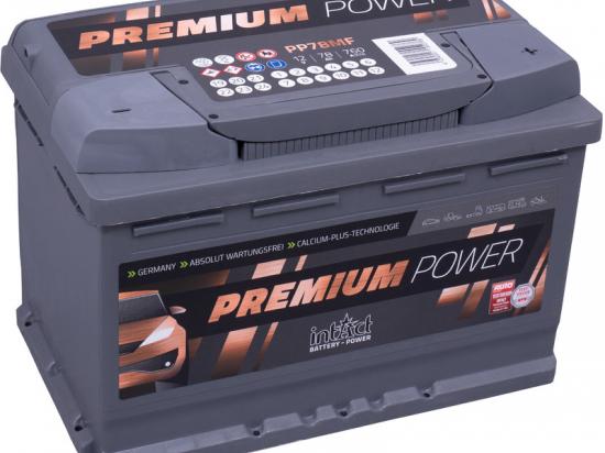 Akumuliatorius Intact 12V 78AH Premium- Power