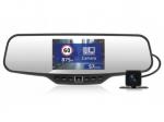 Registratorius veidrodyje ir galinio vaizdo kamera NEOLINE su GPS duombaze apie policijos radarus